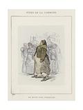 En Route Pour Versailles Giclee Print by Charles Albert d'Arnoux Bertall