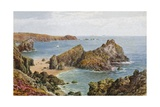 Kynance Cove, Therill, Cornwall Giclee Print by Alfred Robert Quinton