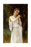 Earrings, 1891 Giclee Print by William Adolphe Bouguereau