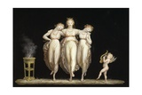 The Three Graces, 1798-1799 Giclee Print by Antonio Canova