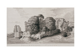 Kenilworth Castle', 1776 Giclee Print by Moses Griffiths
