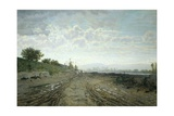 Morning on the Arno Giclee Print by Telemaco Signorini