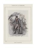 Marin Petroleur Giclee Print by Charles Albert d'Arnoux Bertall
