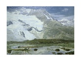 Cambrena Glacier, 1897 Giclee Print by Filippo Carcano