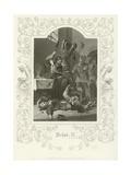 Richard II, Act V, Scene V Giclee Print by Joseph Kenny Meadows