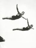 Platform Diving at the Berlin Olympic Games, 1936 Photographic Print