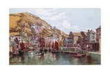 Polperro Harbour Giclee Print by Alfred Robert Quinton