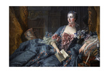 Madame Pompadour Giclee Print by Francois Boucher