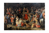 Christ Carrying the Cross Giclée-Druck von David Vinckboons