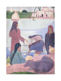 The Water Carriers, 1895 Giclee Print by Emile Bernard