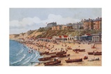 The West Cliff, Bournemouth Giclee Print by Alfred Robert Quinton