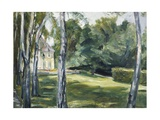 A House in Garden Giclee Print by Max Liebermann