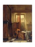 The Philosopher, 1844 Giclée-Druck von Hubertus van Hove