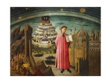 Divine Comedy Giclee Print by Dante Alighieri