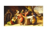 Deposition of Christ in Tomb Giclee Print by Lorenzo Lotto
