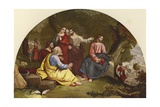 Christ Mourning over Jerusalem Giclee Print by Sir Charles Lock Eastlake