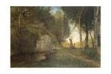 Stillness, Circa 1860 Giclee Print by Antonio Fontanesi
