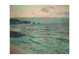 Incoming Tide Giclee Print by Albert Julius Olsson