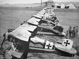 German Aircraft on the Western Front, July 1917 Photographic Print