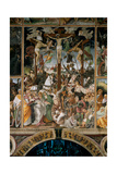 The Crucifixion, 1513 Giclee Print by Gaudenzio Ferrari