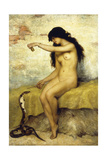 The Snake Charmer Giclee Print by Paul Desire Trouillebert