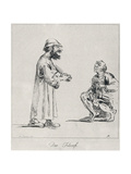 Two Philosophers, Engraved by Arthur Pond, 1739 Giclee Print by Annibale Carracci