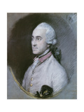 Portrait of George Pitt, 1st Baron Rivers Giclee Print by Thomas Gainsborough