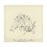 Prometheus Chained Giclee Print by John Flaxman