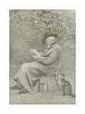Carlyle at Chelsea Giclee Print by Helen Allingham