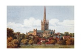 Norwich Cathedral Giclee Print by Alfred Robert Quinton