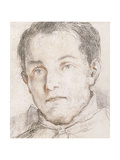 Portrait of a Young Man Giclee Print by Giovanni Antonio Burrini Or Burino
