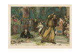 The Play Scene from Hamlet Giclee Print by Henry Marriott Paget