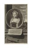 Catherine Howard Giclee Print by Adriaan van der Werff
