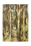 Picnic in the Woods, 1920 Giclee Print by Max Liebermann