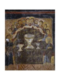 Last Supper, Byzantine Fresco Giclee Print