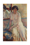 The Model's Rest, 1912 Gicléetryck av Theo van Rysselberghe