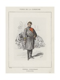 General Commandant, Le Citoyen La Cecilia Giclee Print by Charles Albert d'Arnoux Bertall