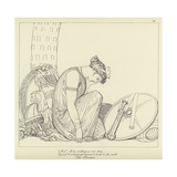 The Persians Giclee Print by John Flaxman