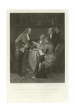 Drafting the Declaration of Independence Giclee Print by Alonzo Chappel