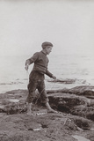 'A Fisher Laddie', C.1890 Photographic Print by James Patrick