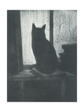 Le Chat, C.1920 Giclee Print by Christopher Richard Wynne Nevinson