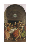 The Last Supper Giclee Print by Girolamo Romanino