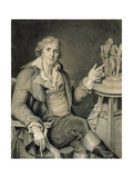 Portrait of Augustin Pajou, 1782 Giclee Print by Jacques Augustin Catherine Pajou