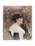 Bust of a Woman Giclee Print by Giuseppe De Nittis