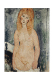 Nude Standing, C.1917-18 Giclee Print by Amedeo Modigliani