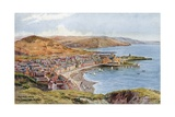Aberystwyth from Constitution Hill Giclee Print by Alfred Robert Quinton