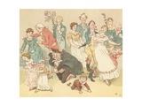 The Great Panjandrum Himself Giclee Print by Randolph Caldecott