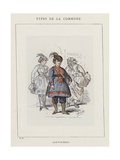Cantinieres Giclee Print by Charles Albert d'Arnoux Bertall