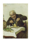 A Satisfying Meal Giclee Print by Gaetano Bellei