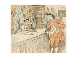 Mry Mary Blaize Giclee Print by Randolph Caldecott